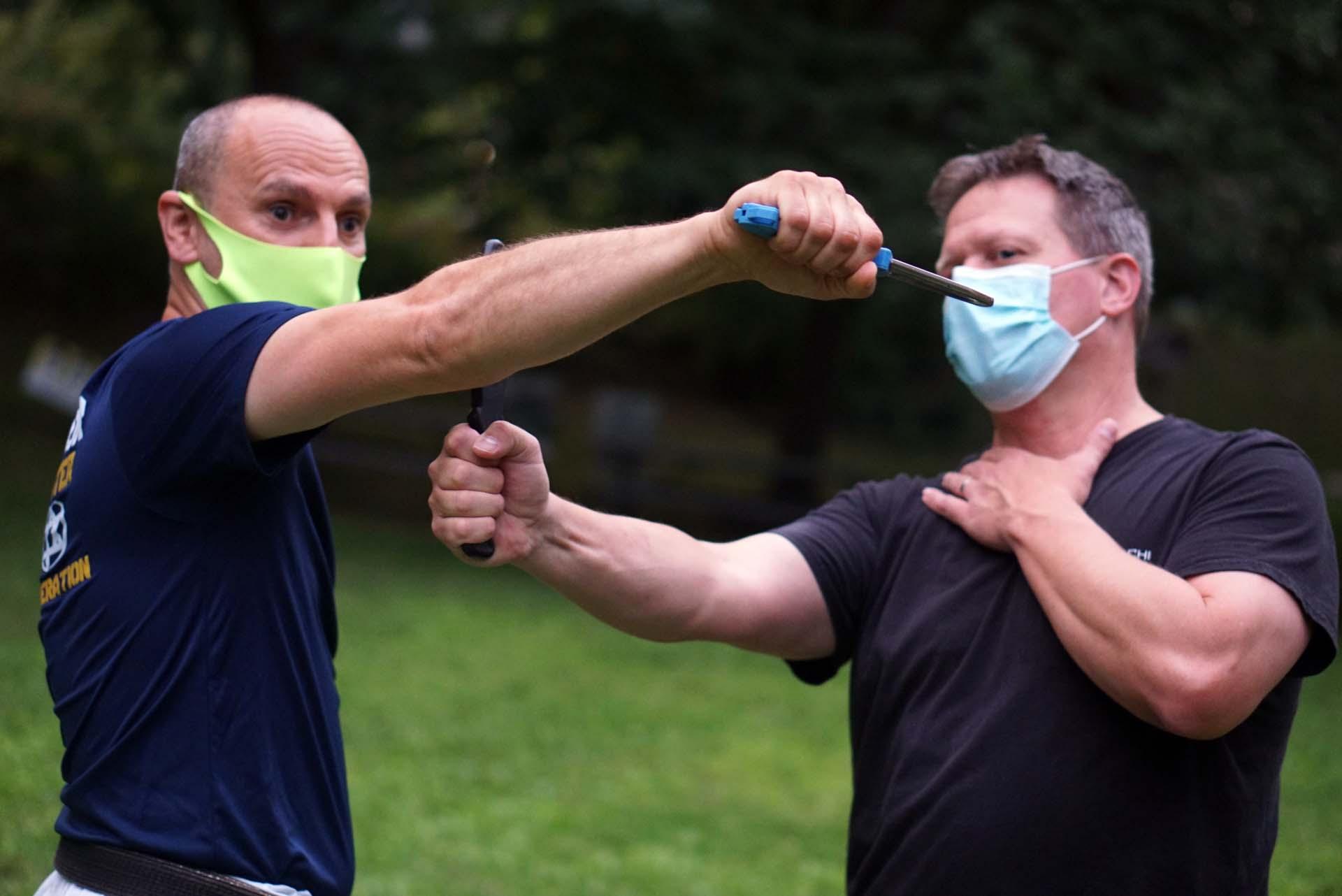 2021 August 4th - Outdoor Shotokan Karate & Krav Maga Self-Defense Classes at Thomas Paine Cottage