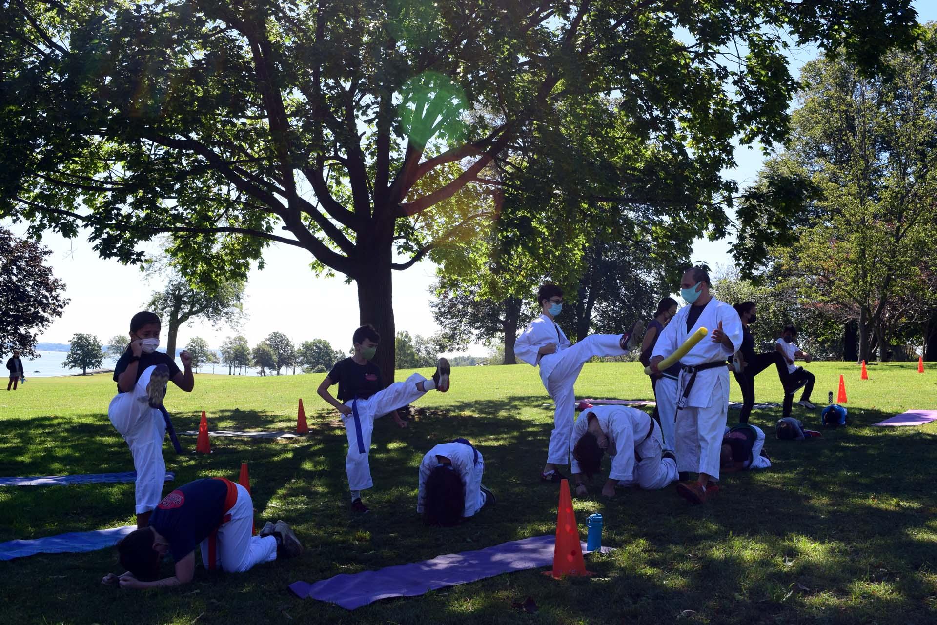 2021 September 25 - Krav Maga Self-Defense & Shotokan Karate Outdoor Classes in Davenport Park