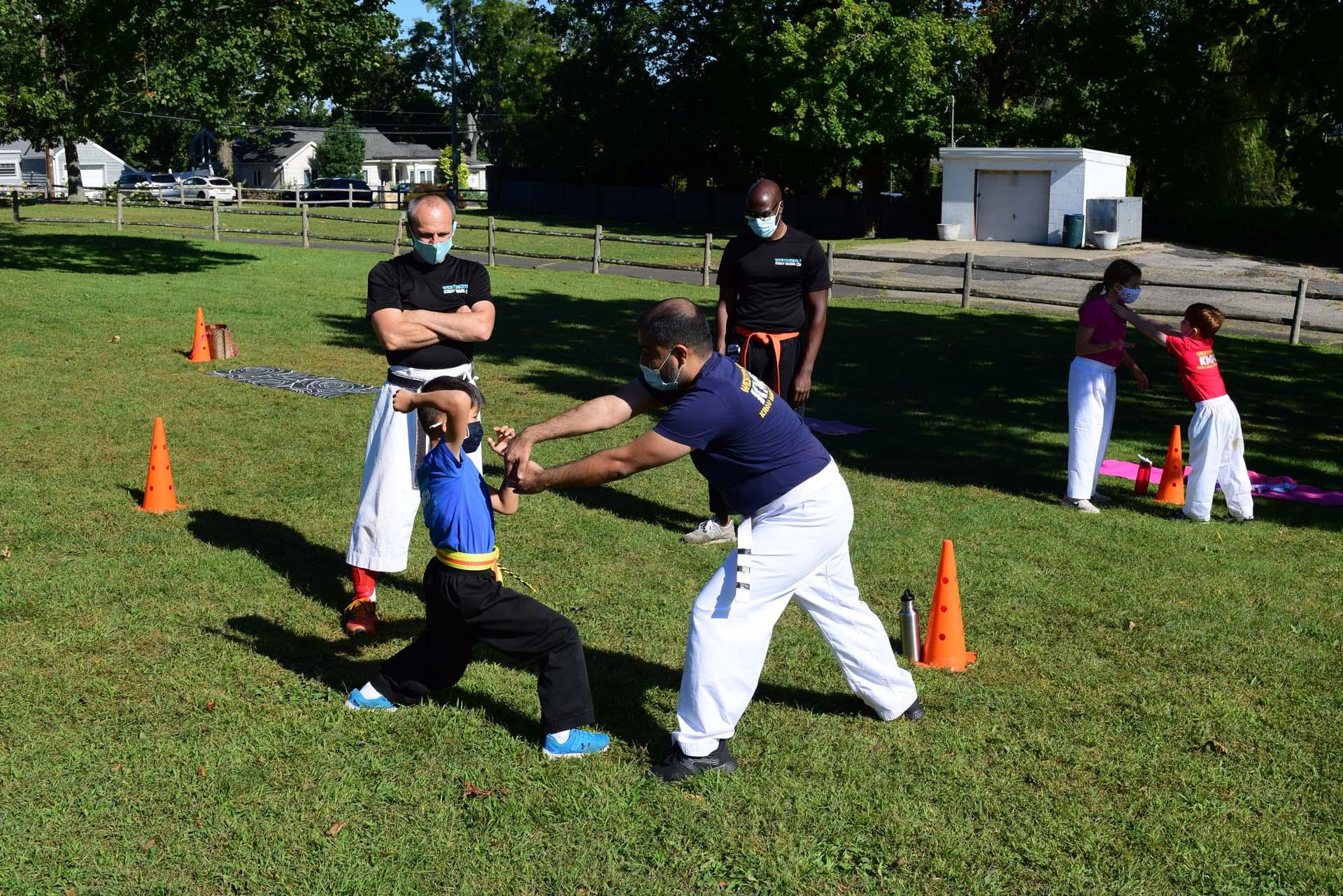 2021 September 26 - Krav Maga Self-Defense & Shotokan Karate Outdoor Classes in Davenport Park